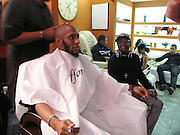 l to r: MOS DEF and Spike Lee at Saffor's Male Grooming for Grammys and Music Performances during the 52nd Annual Grammys Season. on January 28, 2010 in Los Angeles, California. Photo Credit: Terrence Jennings/AtlasPress