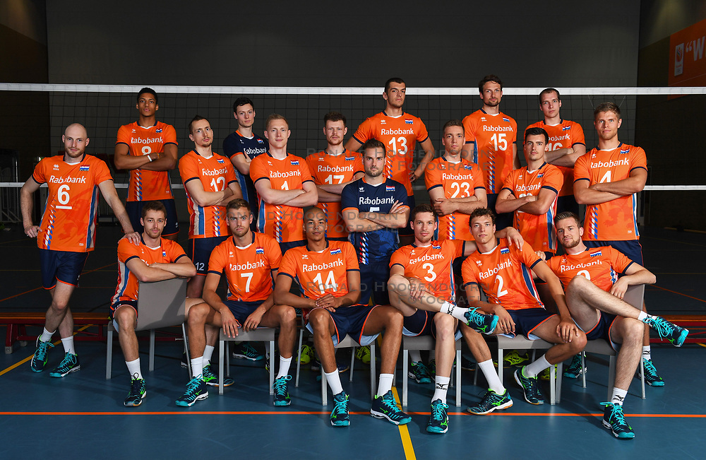 14-05-2018 NED: Team shoot Dutch volleyball team men, Arnhem