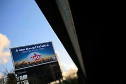 UK ENGLAND LONDON 8DEC13 - Billboard advertising sign in Hackney, east London.<br /> <br /> jre/Photo by Jiri Rezac<br /> <br /> <br /> <br /> © Jiri Rezac 2013