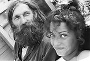 Hank & Marina, Glastonbury, 1993.