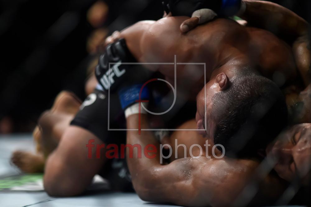 durante luta válida pelo UFC FIGHT NIGHT:  MAIA X LAFLARE, realizado no ginásio do Maracanazinho, zona norte da cidade do Rio de Janeiro, RJ. Foto: Ide Gomes / Frame