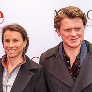 NLD/Amsterdam20150518 - Premiere De Surprise, Beau van Erven Dorens en partner Selly Vermeijden