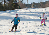 Skiing and Snowboarding at Gunstock Mountain Resort.  Karen Bobotas for the Laconia Daily Sun