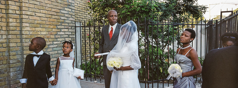 A wedding on Monday, December 22, 2014 in Port-au-Prince, Haiti.