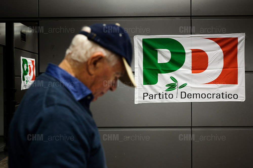 Opening of the PD electoral campaign at 'Spazio Altraeconomia' in Rome on 1 January 2018. Christian Mantuano / OneShot