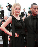 18.MAY.2011. CANNES<br /> <br /> SUNNERY JAMES AND DOUTZEN KROES ON THE RED CARPET FOR THE PREMIERE OF LA CONQUETE AT THE 64TH CANNES INTERNATIONAL FILM FESTIVAL 2011 IN CANNES, FRANCE.<br /> <br /> BYLINE: EDBIMAGEARCHIVE.COM<br /> <br /> *THIS IMAGE IS STRICTLY FOR UK NEWSPAPERS AND MAGAZINES ONLY*<br /> *FOR WORLD WIDE SALES AND WEB USE PLEASE CONTACT EDBIMAGEARCHIVE - 0208 954 5968*