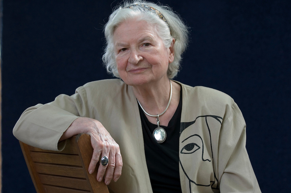 EDINBURGH, SCOTLAND - AUGUST26. Author P.D. James poses during a portrait session held at Edinburgh Book Festival on August 26, 2006  in Edinburgh, Scotland. (Photo by Marco Secchi/Getty Images).