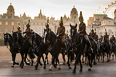 2017-07-07-Horseguards Parade rehearsals ahead of Spanish State Visit - London