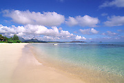 Waimanalo Beach, Oahu, Hawaii, USA<br />