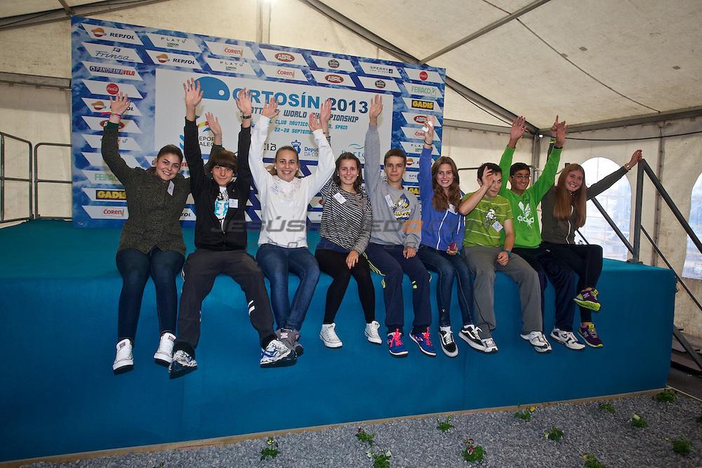Platu 25 World Championships, Portosín , Galicia, Spain. 24-29 September 2013  ©