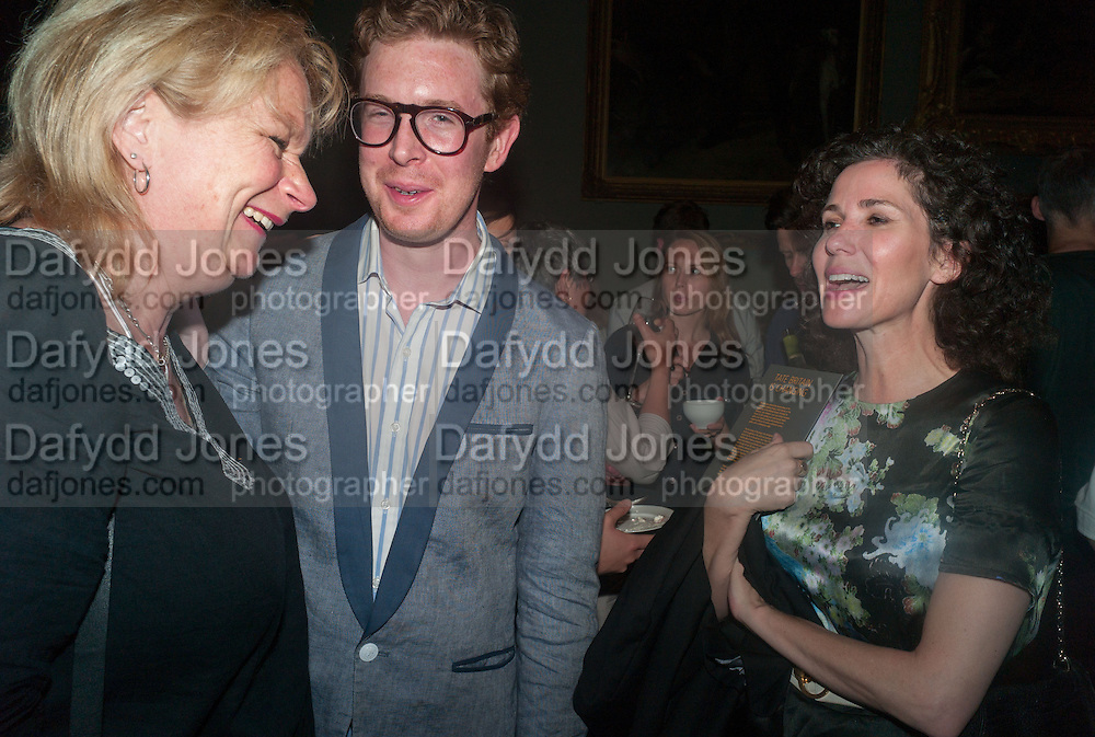 LOUISA BUCK; MOLLIE DENT-BROCKLEHURST, Tate Summer party. Tate Britian, Millbank. London. 28 May 2012
