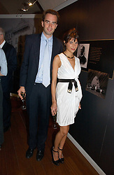 FRITZ VON WESTENHOLZ and CAROLINE SIEBER at the opening reception of 'Bejewelled by Tiffany 1837-1987' at The Gilbert Collection, Somerset House, London on 21st June 2006.