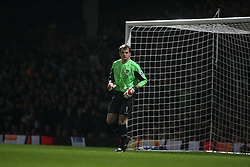 London, England - Tuesday, January 30, 2007: Liverpool against West Ham United's Roy Carroll during the Premiership match at Upton Park. (Pic by Chris Ratcliffe/Propaganda)