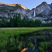 Yosemite Falls Reflecton