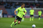 Brighton defender, Uwe Huenemeier during the Sky Bet Championship match between Huddersfield Town and Brighton and Hove Albion at the John Smiths Stadium, Huddersfield, England on 18 August 2015.