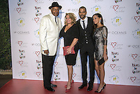 Tony Parker's Charity gala at &quot;Abbaye de Colonges&quot;<br /> Tony Parker Sr, Pamela Parker, Tony Parker and Axelle