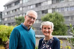 Portrait of Rob and Ann Clarke, on September 27, 2019 in Ljubljana, Slovenia. Photo by Matic Klansek Velej / Sportida