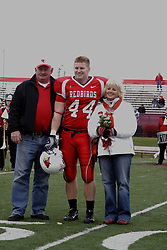 04 November 2006: Senior Day - Niall Campbell. In a decisive victory, the Illinois State Redbirds defeat the Missouri State Bears 38-14 at Hancock Stadium on the campus of Illinois State University in Normal Illinois.<br />