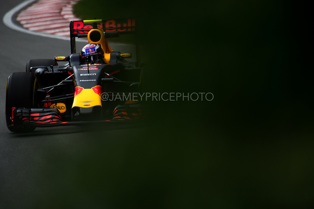 June 9-12, 2016: Canadian Grand Prix. Max Verstappen, Red Bull