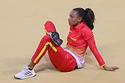 Maria Vicente (Spain), Women's Pentathlon, during the European Athletics Indoor Championships 2019 at Emirates Arena, Glasgow, United Kingdom on 1 March 2019.
