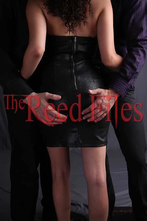 the reed files: menage a trois stock images