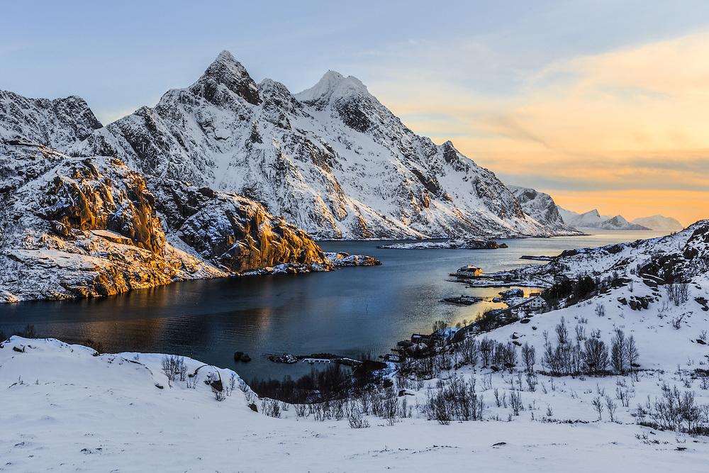 Unstad fjord
