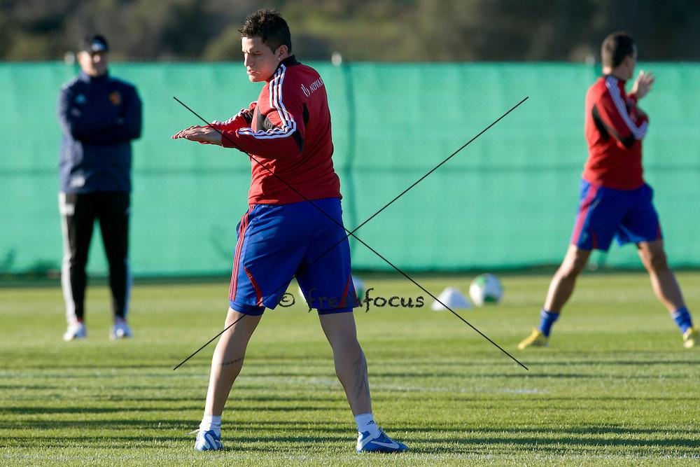 14.01.2013; Estepona; Fussball Super League - Trainingslager FC Basel;<br /> Raul Bobadilla (Andy Mueller/freshfocus)