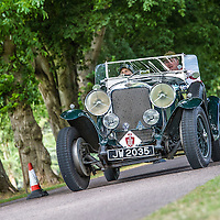Jayne Wignall & Kevin Savage in their Sunbeam 20hp Sports on the Royal Automobile Club 1000 Mile Trial 2015