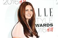 Lana Del Rey, ELLE Style Awards 2016, Millbank London UK, 23 February 2016, Photo by Richard Goldschmidt