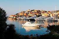 Italie, Sardaigne, Costa Smeralda, Porto Cervo. // Italy, Sardinia, Costa Smeralda, Porto Cervo.