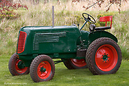 1946 Oliver 60 Regular Tractor restored by Eddie Tout of Moscow, Idaho