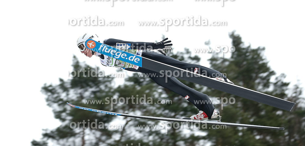 04.01.2014, Bergisel Schanze, Innsbruck, AUT, FIS Ski Sprung Weltcup, 62. Vierschanzentournee, Probesprung, im Bild Thomas Diethart (AUT) // Thomas Diethart of Austria during Trial Jump of 62nd Four Hills Tournament of FIS Ski Jumping World Cup at the Bergisel Schanze, Innsbruck, Austria on 2014/01/04. EXPA Pictures © 2014, PhotoCredit: EXPA/ Peter Rinderer