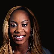 A portrait of Sanya Richards-Ross, USA, at the Adidas Grand Prix Press Conference, Hyatt Grand Central, New York ahead of he Adidas Grand Prix at Icahn Stadium, Randall's Island. Manhattan, New York. 23rd May 2012. Photo Tim Clayton
