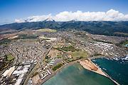Kahului Harbor, Maui, Hawaii.