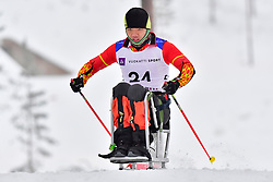 ZHENG Peng, CHN, LW10 at the 2018 ParaNordic World Cup Vuokatti in Finland