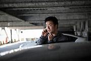 Takehiko Yoshizawa, 34 years old. Founder of Japan Car Sharing Association in Ishinomaki, Japan.