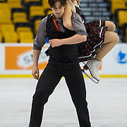 2014 US Figure Skating Championships practice at TD Garden in Boston, MA, on January 8, 2014.
