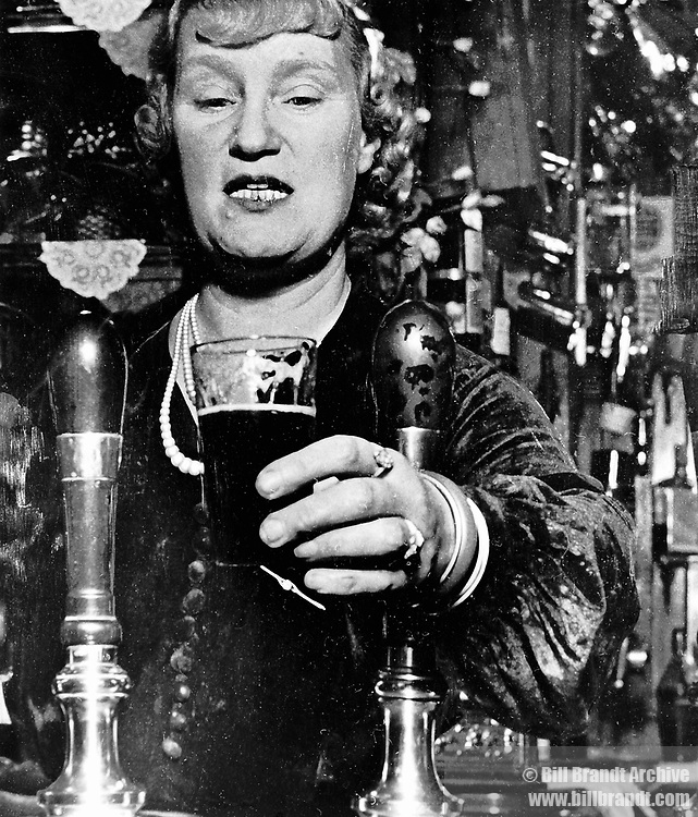 Barmaid at the Crooked Billet, Tower Hill