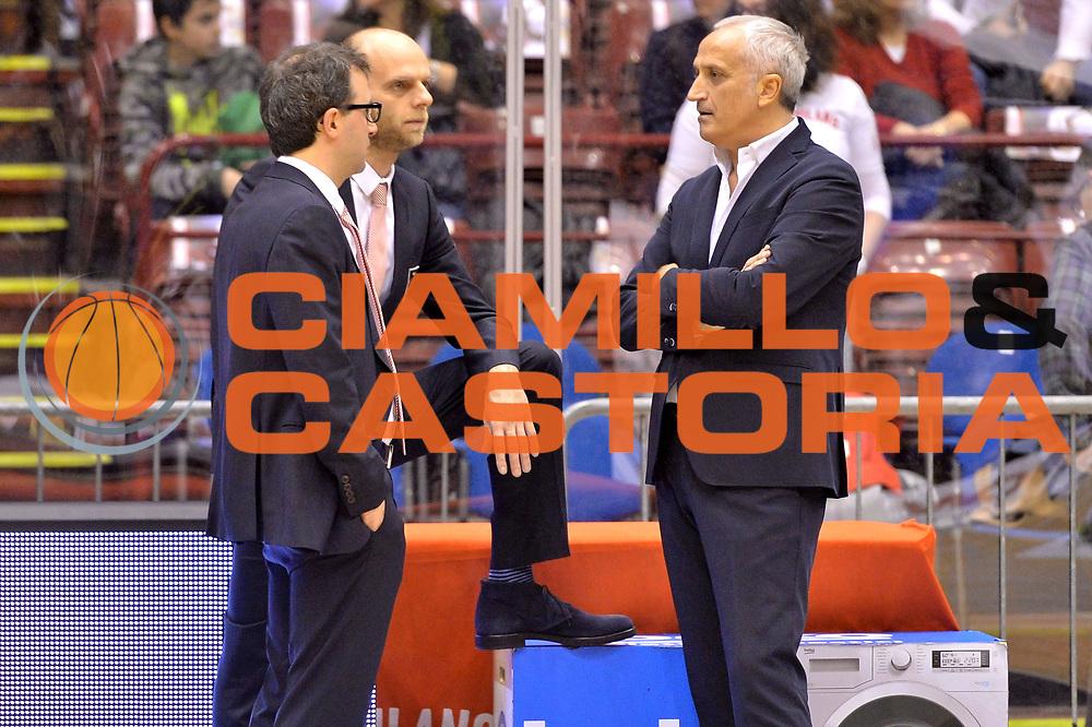 DESCRIZIONE : Milano Lega A 2014-15  EA7 Emporio Armani Milano vs Vagoli Basket Cremona<br /> GIOCATORE : Pancotto Cesare<br /> CATEGORIA : PreGame <br /> SQUADRA : EA7 Emporio Armani Milano<br /> EVENTO : Campionato Lega A 2014-2015<br /> GARA : EA7 Emporio Armani Milano vs Vagoli Basket Cremona<br /> DATA : 25/01/2015<br /> SPORT : Pallacanestro <br /> AUTORE : Agenzia Ciamillo-Castoria/I.Mancini<br /> Galleria : Lega Basket A 2014-2015  <br /> Fotonotizia : Cant&ugrave; Lega A 2014-2015 Pallacanestro : EA7 Emporio Armani Milano vs Vagoli Basket Cremona<br /> Predefinita :