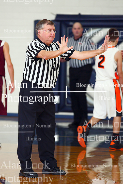 19 January 2013: Flanagan Cornell Falcons v Le Roy Panthers boys1st Round McLean County Tournament at Ridgeview High School in Colfax Illinois