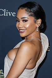 BEVERLY HILLS, LOS ANGELES, CALIFORNIA, USA - JANUARY 25: The Recording Academy And Clive Davis' 2020 Pre-GRAMMY Gala held at The Beverly Hilton Hotel on January 25, 2020 in Beverly Hills, Los Angeles, California, United States. 25 Jan 2020 Pictured: Saweetie. Photo credit: Xavier Collin/Image Press Agency/MEGA TheMegaAgency.com +1 888 505 6342