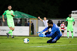 Guy Haimov of Maccabi Haifa during Football match between NS Mura (SLO) and Maccabi Haifa (IZR) in First qualifying round of UEFA Europa League 2019/20, on July 18, 2019, in Stadium Fazanerija, Murska Sobota, Slovenia. Photo by Blaž Weindorfer / Sportida