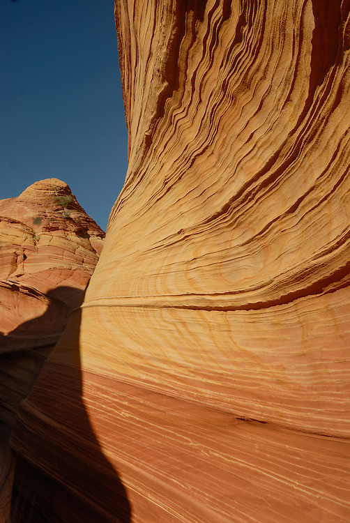 "The beautiful rock formation ""The wave"", Vermillion Cliffs, Utah, USA"