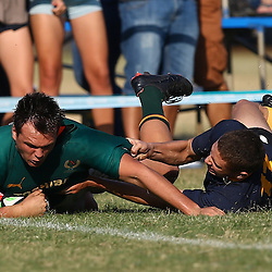 Durban 23rd May 2015,  Marco Palvie of Glenwood during the match between Durban High School and Glenwood FNB Classic Clash on Saturday23rd May 2015.     (Photo by Steve Haag)