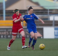 Megan McCarthy  - Forfar Farmington v Jeanfield Girls in SWPL2 at Station Park, Forfar<br /> <br />  - &copy; David Young - www.davidyoungphoto.co.uk - email: davidyoungphoto@gmail.com
