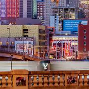 High rise buildings of downtown Kansas City, Missouri.