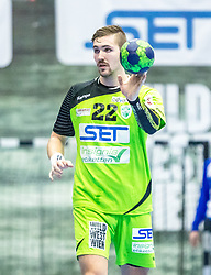 10.12.2017, BSFZ Suedstadt, Maria Enzersdorf, AUT, HLA, SG INSIGNIS Handball WESTWIEN vs Bregenz Handball, Hauptrunde, 16. Runde, im Bild Julian Schiffleitner (SG INSIGNIS Handball WESTWIEN) // during Handball League Austria 16 th round match between SG INSIGNIS Handball WESTWIEN and Bregenz Handball at the BSFZ Suedstadt, Maria Enzersdorf, Austria on 2017/12/10, EXPA Pictures © 2017, PhotoCredit: EXPA/ Sebastian Pucher