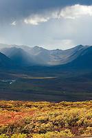 Ogilvie Mountains Tombstone Territorial Park Yukon Canada