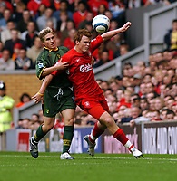 John Arne Riise Liverpool/ Paul McVeigh Norwich City<br />