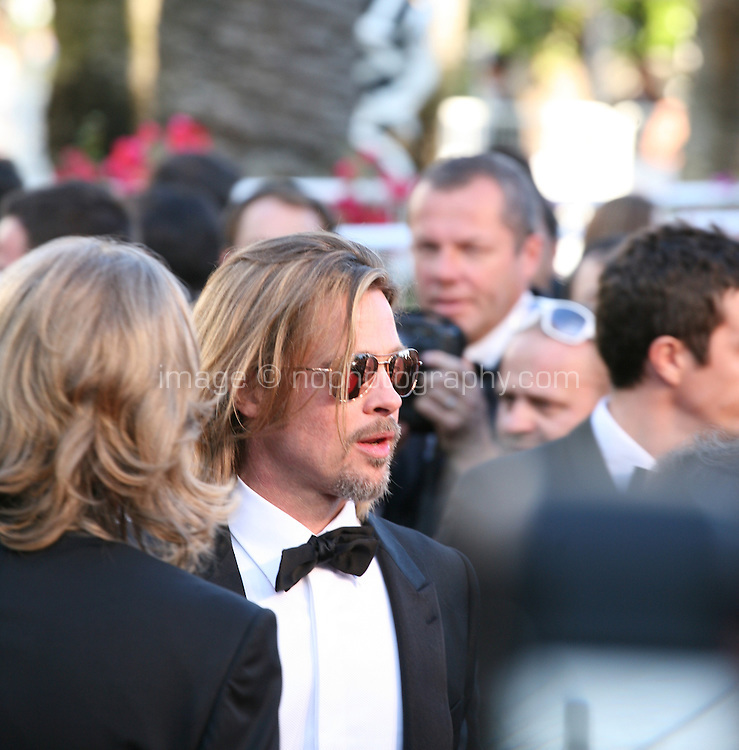 Brad Pitt at the Killing Them Softly gala screening at the 65th Cannes Film Festival France. Tuesday 22nd May 2012 in Cannes Film Festival, France.